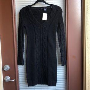 MODA black sweater dress size XS